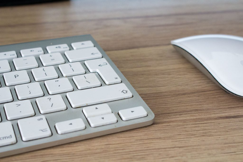 Apple Magic Mouse en Apple Wireless Keyboard