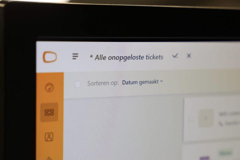 Het ticketsysteem van Rutger van der Heijden Computers